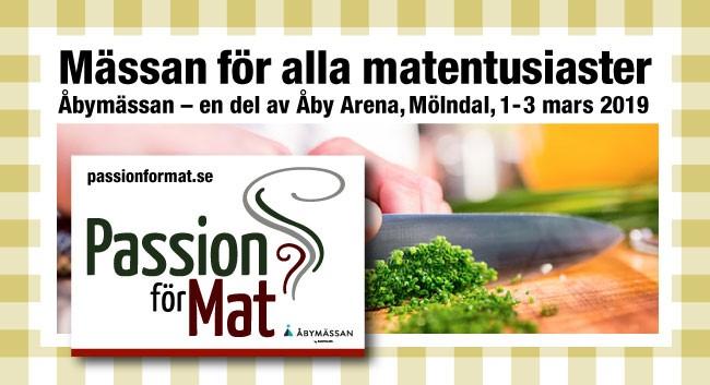 Välkommen till Passion för Mat