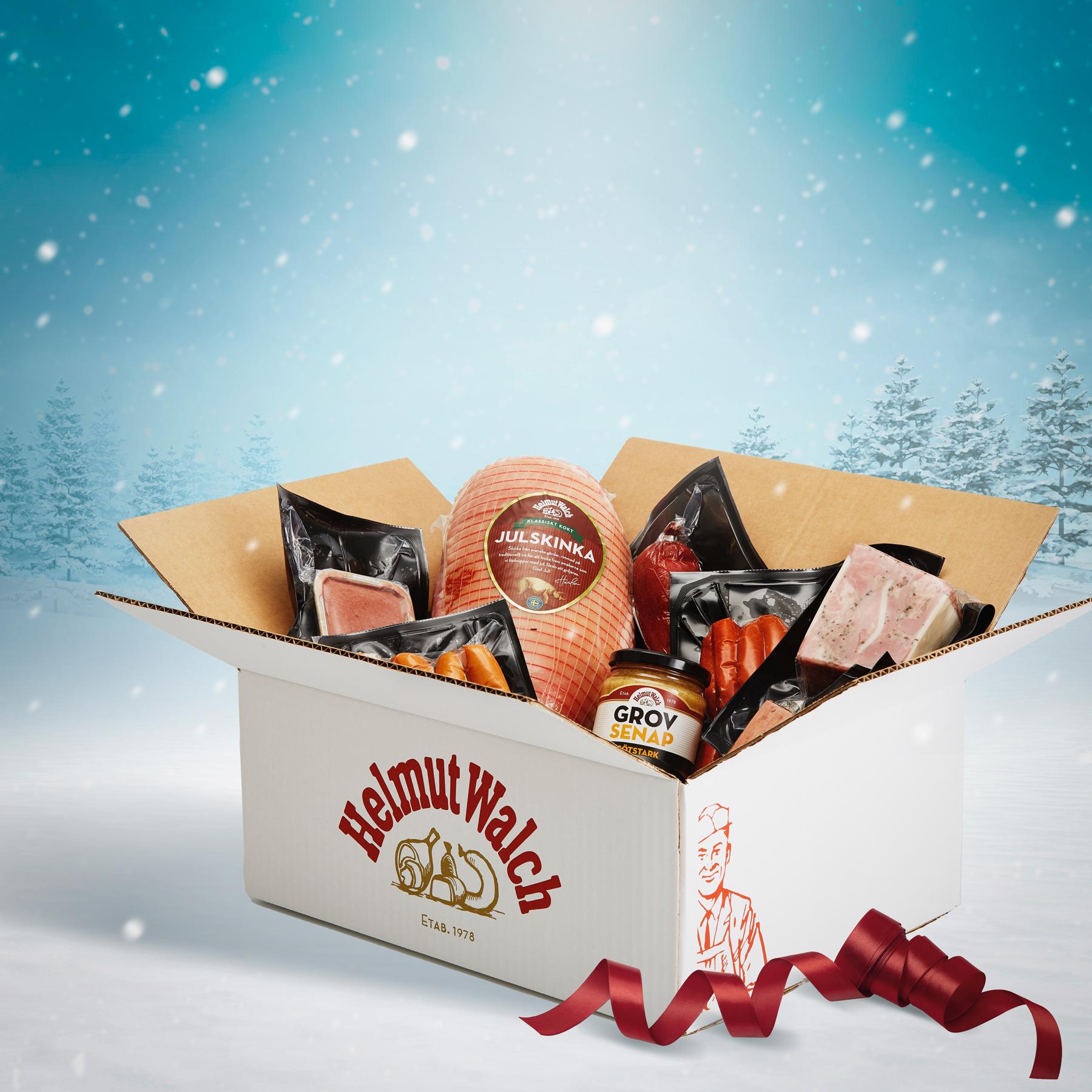 Underbara julsmaker samlade i en enda låda.